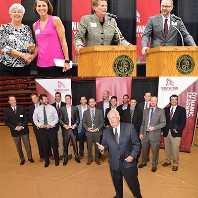 Transylvania inducts sports standouts into Pioneer Hall of Fame