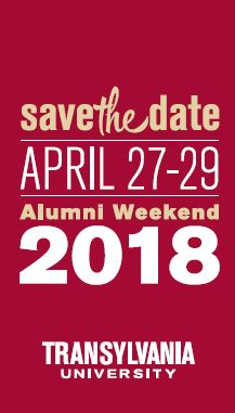 Save the Date for Alumni Weekend 2018