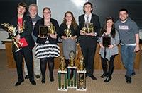 Speech and debate team receives top honors