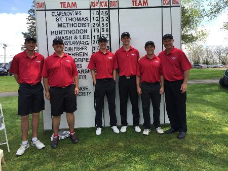 Transylvania Golf takes 12th place at 2016 NCAA Men's Golf National Championship