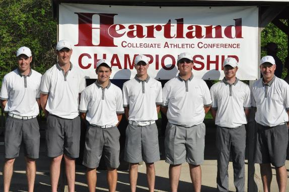 Men's golf earns ninth straight HCAC title