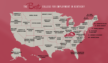 Transylvania named best Kentucky college for alumni job placement rates