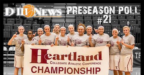 Women's Basketball Ranked 21st in Preseason Poll